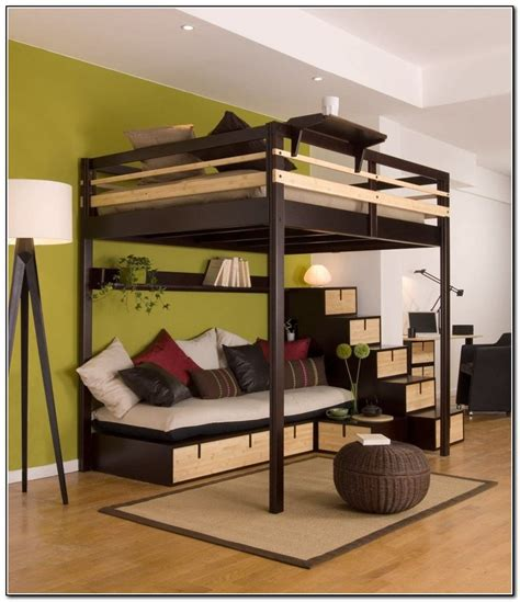 ikea loft bed with desk full loft bed with desk ikea beds home design ideas