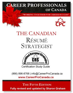 Certified Resume Strategist by Certified Resume Strategist Crs Credential Career Professionals Of Canada