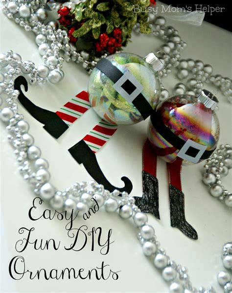 Easy And Fun Diy Ornaments  Busy Moms Helper