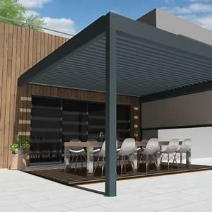 Pergola Bioclimatique Castorama : pergola bioclimatique architect sur mesure ~ Melissatoandfro.com Idées de Décoration