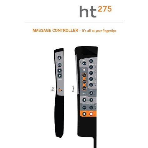 the human touch ht 275 chair