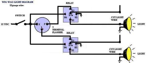 Wig Wag Flasher Relay Wiring Diagram by Printer Friendly Forum Posts Wig Wag Diagram