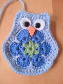 African Flower Crochet Pattern Owl