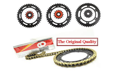 Brand New Unibear Motorcycle Drive Chain 530 Gold O-ring