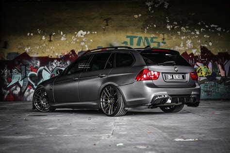 heavily tuned bmw  touring delivers  horsepower