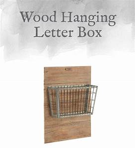 magnolia home elements accessories part one design by With hanging letter box