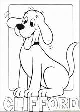 Coloring Clifford Sheets Popular sketch template