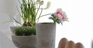Beton Vase Selber Machen : eierbecher aus beton diy anleitung ~ Markanthonyermac.com Haus und Dekorationen