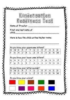 preschool readiness test the world s catalog of ideas 46808