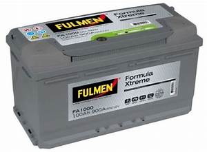 Batterie Voiture Leclerc : fulmen batterie voiture fa1000 12v 100ah 900a batterie ~ Melissatoandfro.com Idées de Décoration