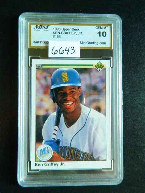 1990 Deck Ken Griffey Jr 156 by 1990 Deck 156 Ken Griffey Jr Rookie Card Mgs