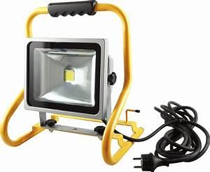 Projecteur De Chantier Led : projecteur de chantier led 30w portable ip44 eclairage ~ Edinachiropracticcenter.com Idées de Décoration