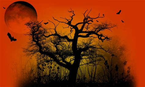 Spooky Fall Backgrounds by Grab A Spooky Desktop Theme For Your Computer