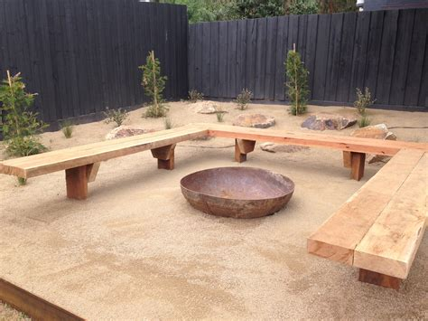 Backyard Furniture Ideas by Fire Pit Seating To Make Your Outdoors Cozy