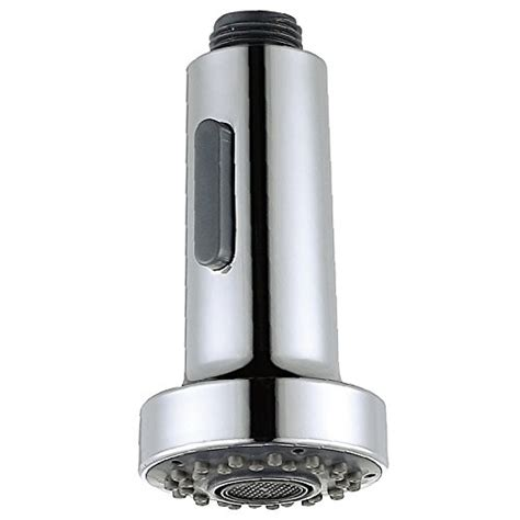 faucet spray head replacement pull  kitchen sink nozzle spout shower chrome ebay