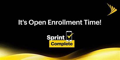 Sprint Open Enrollment Complete Sign Iphone Jump