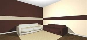 Streifen An Die Wand Malen Beispiele : streifen braun wand ~ Markanthonyermac.com Haus und Dekorationen
