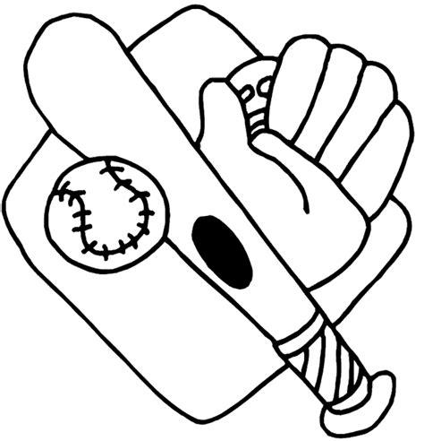 baseball coloring pages baseball bats balls  gloves