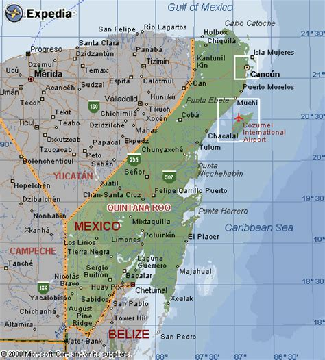travel maps  mexico  image panoramic photo gallery