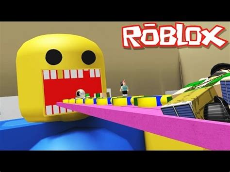 roblox adventures feed  giant noob turning