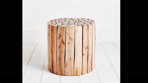 Wooden Tables For Sale by Unique And Artistic Wood Log Side Table Design Ideas