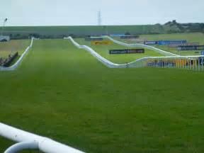 Horse Race Track Finish Line