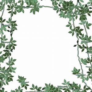 Floral Frame Green Random 8 Free Stock Photo - Public ...