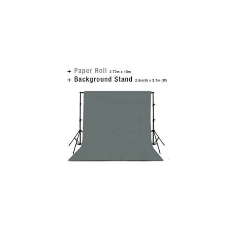 studio photo background backdrop stand  charcoal grey