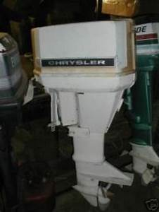 Chrysler Outboard Motor 35 45 55 Hp Repair Service Manual