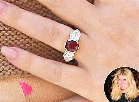 jessica simpson from truly unique celebrity engagement
