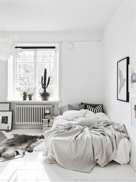 scandinavian bedroom ideas  pinterest scandi