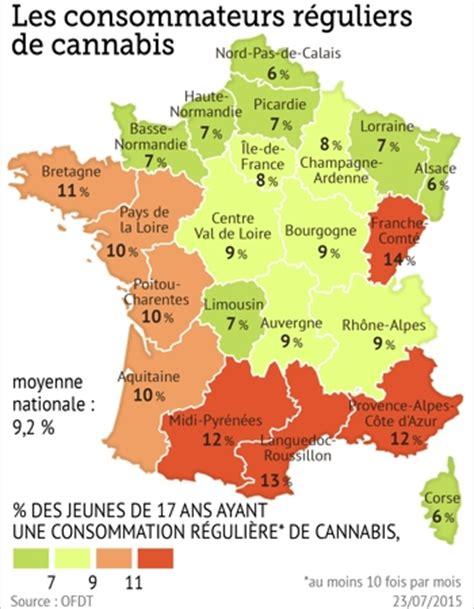 c est dans le sud que les jeunes consomment le plus de cannabis pour le figaro sant 233 one way