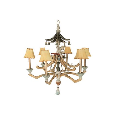 Flying Monkey Chandelier by Brighten Up I In Vintage