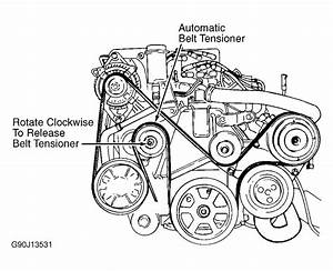 2000 Chrysler Cirrus Serpentine Belt Routing And Timing Belt Diagrams