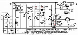 0-30 Vdc Stabilized Power Supply 0 002-3 A