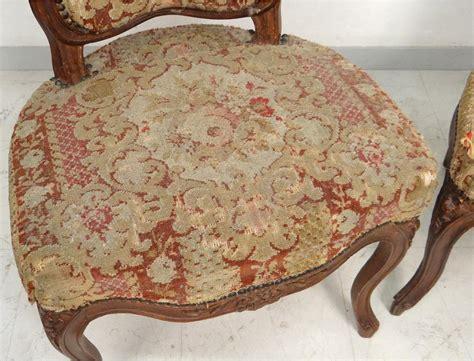 chaises louis xv paire chaises louis xv bois sculpté fleurs estille