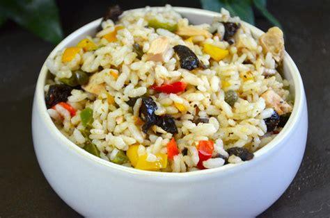 cuisine salade de riz recettes de salade de riz idées de recettes à base de salade de riz