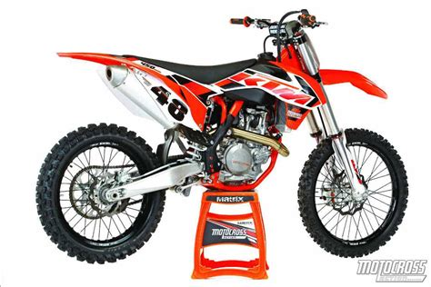 2015 ktm motocross bikes motocross action magazine mxa 39 s 2015 ktm 450sxf motocross