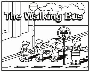 School crossing guard coloring pages coloring pages for Safety guard