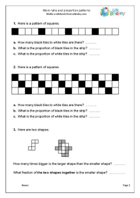 ratio patterns