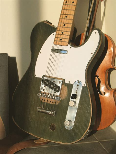 replica guitars francis rossi tele telecaster guitar forum