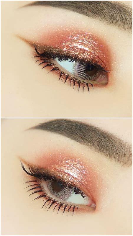 koji eyelash fix metallic festival eye makeup zwinnieyap