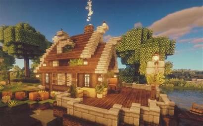 Minecraft Cottage Houses Amazing Blueprints Medieval Casa