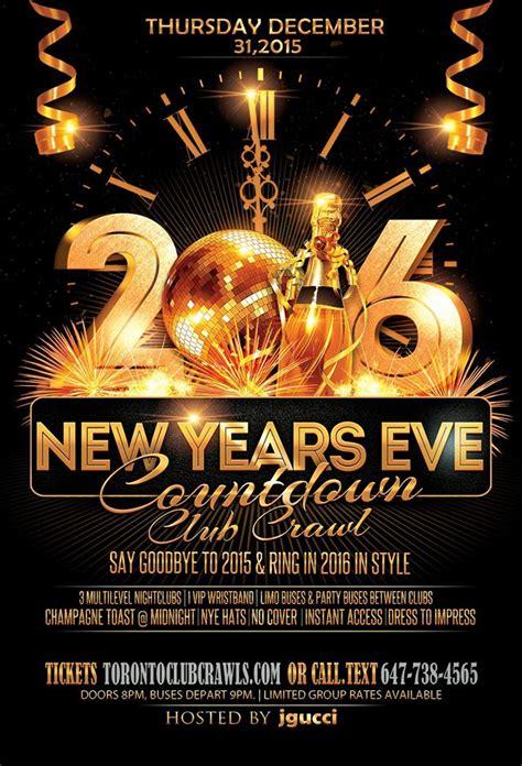 Countdown 16 Toronto New Years Eve Clubpub Crawl 2016