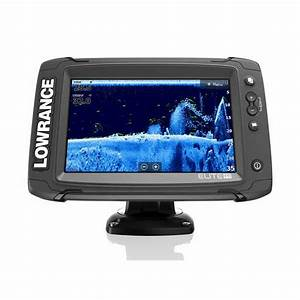 Lowrance Elite Chartplotter Combo With