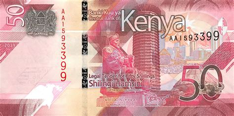 kenya      shillings   notes kenpnp kenya set