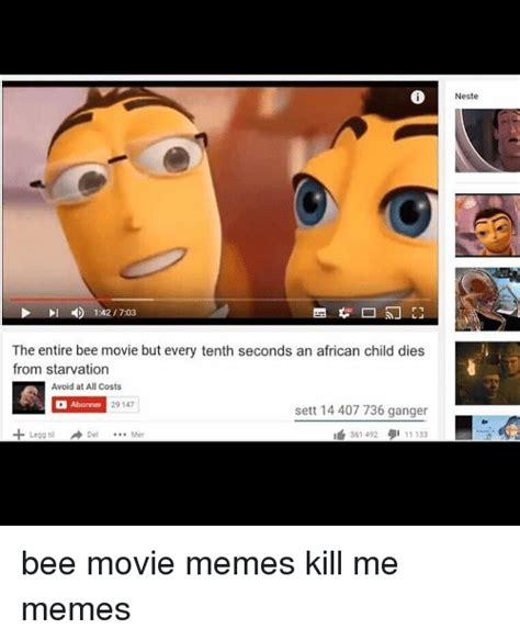 Bee Movie Memes - search the graduate memes on me me