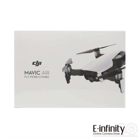 dji mavic air fly  combo onyx black