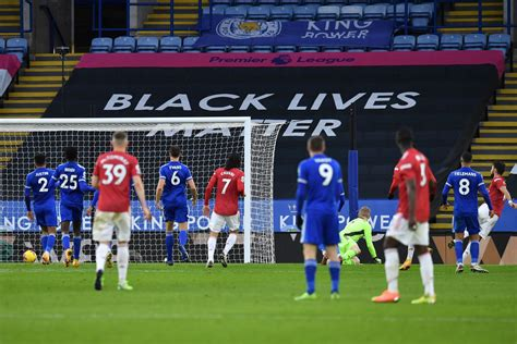 Leicester City 2-2 Manchester United Match Report | EPL ...