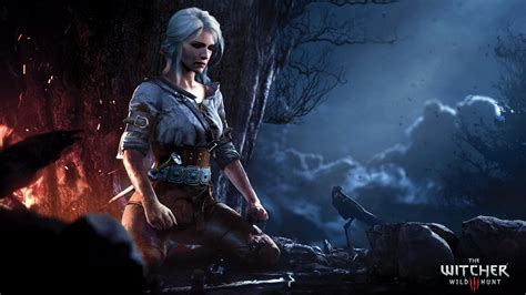 witcher  wild hunt ciri wallpapers hd wallpapers